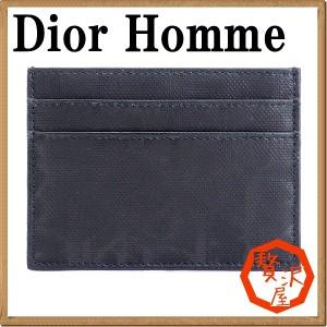 ディオールオム DIOR HOMME メンズ 財布 カードケース トロッター 2DLCH001DNN-900
