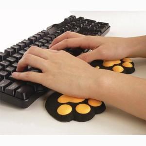 メール便送料無料 小島通商 ねこきゅう ハンドレスト 左右1組 パソコン周辺商品 4582221801070