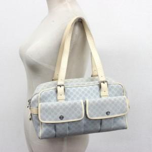 あす着 CELINE セリーヌ ブラゾン マカダム ハンドバッグ  ショルダーバッグ トートバッグ 鞄 かばん カバン