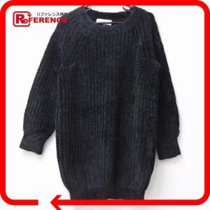 新品同様 あす着 ルシェルブルー アパレル ニットセーター LE CIEL BLEU セーター ブラック レディース
