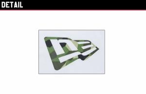 ニューエラ(NEW ERA) パフォーマンス Tシャツ スウェディッシュカモ グリーン フラッグ S/SL《White》 [AA]