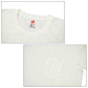 【メール便送料無料】ヘインズ(HANES) SPORTS WEAR Crew Tee S/SL ポケット付き クルーTシャツ(H3-F321) メンズ 半袖 Tシャツ[AA]
