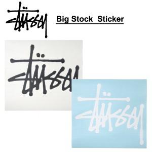 【メール便可】STUSSY Big Stock Decal ステューシー アクセサリー ステッカー/デカール[AA]