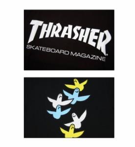 スラッシャー×マーク ゴンザレス(THRASHER×MARK GONZALES) MAG LOGO Tee S/SL(THMG-SST17) メンズ 半袖 Tシャツ[AA]