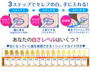 お得な2本セット 30秒ケア2週間 白い歯よみがる ボディマジック ホワイトニングペン  各3ml