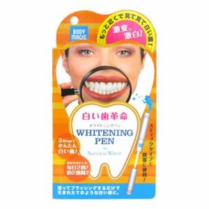 お得な3本セット 30秒ケア2週間 白い歯よみがる ボディマジック ホワイトニングペン  各3ml