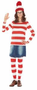 【即納】ハロウィン 衣装  コスプレ 正規ライセンス ウォーリーを探せ costume【コスチューム】ウェンダ(大人用) テレビ
