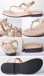 【即納】【SALE】[送料無料!!]Dita Select【ディータセレクト】フラットヒトデサンダル/全4色靴 シューズ サンダル レディー