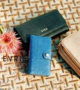 【即納】【SALE】EVRIS【エヴリス】メタリックグリットパターンウォレット/全3色 長財布 レディース 黒 財布 限定 財布