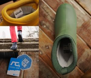 レインブーツスノーブーツ  滑らない靴 長靴 防滑 防寒 防水 レディース メンズ ショート 【UNI】【Y_KO】