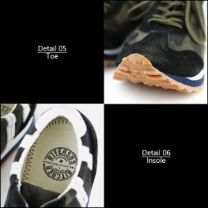 D'IVERSUS KITCHEN 本革 スニーカー メンズ DK-3705【Y_KO】【SHA】■180201