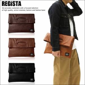 REGiSTA クラッチバッグ トートバッグ ハンドバッグ 二つ折り メンズ 573 SD5929548【AM】■180408