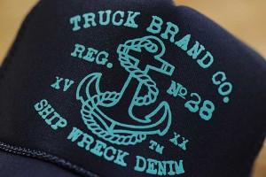 TRUCK BRAND メッシュ キャップ メンズ  帽子 メッシュキャップ レディース トラックブランド S32 ネイビー 紺
