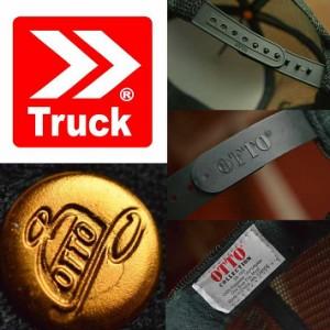 TRUCK BRAND メッシュ キャップ メンズ  帽子 メッシュキャップ レディース トラックブランド S31 ホワイト/ダークグリーン 白 緑