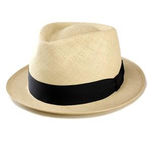 天然素材/帽子/夏/メンズ/パナマハット/FUJI HAT/フジハット/パナマ帽/メンズ/中折れ/レディース/帽子/ナチュラル