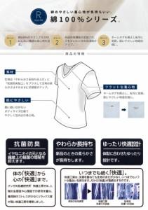 グンゼ 快適工房 長袖U首シャツ メンズ (S〜L)【定番】