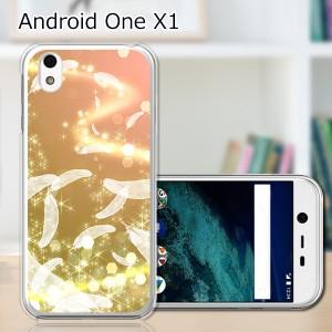 シャープ Android One X1 ワイモバイル ハードケース/カバー 【天使の羽 PCクリアハードカバー】 スマートフォンカバー・ジャケット