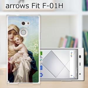ARROWS Fit F-01H ハードケース/カバー 【MARIA PCクリアハードカバー】アローズ f01h スマートフォンカバー・ジャケット
