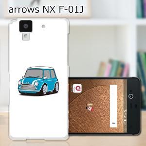 ARROWS NX F-01J ハードケース/カバー 【Mini PCクリアハードカバー】 スマートフォンカバー・ジャケット