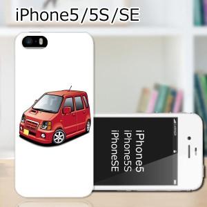 iPhone5s ハードケース/カバー 【SRワゴン PCクリアハードカバー】アイフォン スマートフォンカバー・ジャケット