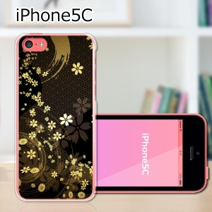 iPhone5c ハードケース/カバー 【舞い散る雅 PCクリアハードカバー】アイフォン5c スマートフォンカバー・ジャケット