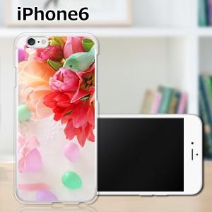iPhone6 アイフォン6 ハードケース/カバー 【フラワーアレンジメント3 PCクリアハードカバー】Apple スマートフォンカバー・ジャケット
