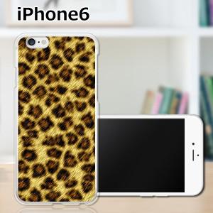 iPhone6 アイフォン6 ハードケース/カバー 【LeopardG PCクリアハードカバー】Apple スマートフォンカバー・ジャケット