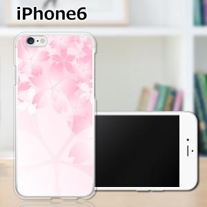 iPhone6 アイフォン6 ハードケース/カバー 【桜咲く PCクリアハードカバー】Apple スマートフォンカバー・ジャケット