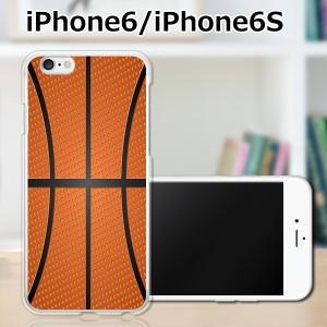 iPhone6s ハードケース/カバー 【Basketball PCクリアハードカバー】 iPhone6s スマートフォンカバー・ジャケット