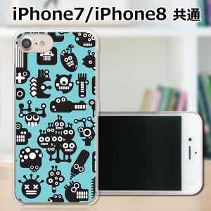 APPLE iPhone8 TPUケース/カバー 【ウチュウジンライシュウ TPUソフトカバー】 スマートフォンカバー・ジャケット