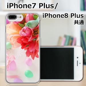 APPLE iPhone8 Plus ハードケース/カバー 【フラワーアレンジメント3 PCクリアハードカバー】 APPLE iPhone8 Plus スマートフォンカバー