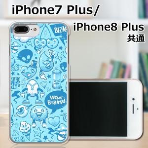 APPLE iPhone8 Plus ハードケース/カバー 【モンスターズ PCクリアハードカバー】 スマートフォンカバー・ジャケット