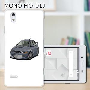 MONO (モノ) MO-01J ハードケース/カバー 【EVOWRC PCクリアハードカバー】  スマートフォンカバー・ジャケット