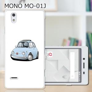 MONO (モノ) MO-01J ハードケース/カバー 【チンクFT PCクリアハードカバー】  スマートフォンカバー・ジャケット
