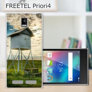 FREETEL Priori4 ハードケース/カバー 【百葉箱 PCクリアハードカバー】 スマートフォンカバー・ジャケット