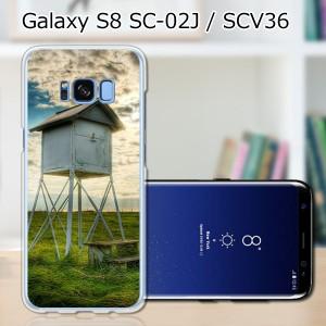 Galaxy S8 SCV36 SC-02J共用 ハードケース/カバー 【百葉箱 PCクリアハードカバー】 スマートフォンカバー・ジャケット