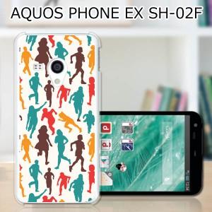 AQUOS PHONE EX SH-02F ハードケース/カバー 【People PCクリアハードカバー】アクオスフォン SH02F スマートフォンカバー・ジャケット