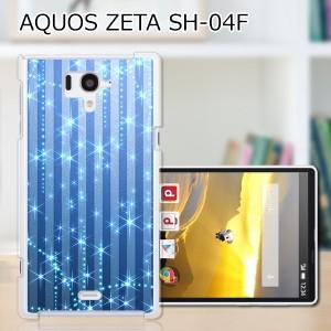 AQUOS PHONE SH-04F ハードケース/カバー 【B.Bストライプ PCクリアハードカバー】アクオスフォン sh04f スマートフォンカバー・ジャケッ