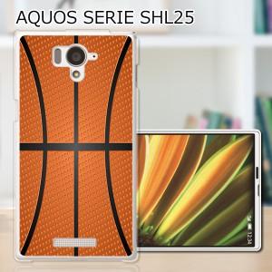AQUOS PHONE SERIE SHL25 ハードケース/カバー 【Basketball PCクリアハードカバー】アクオスフォン shl25 スマートフォンカバー・ジャケ
