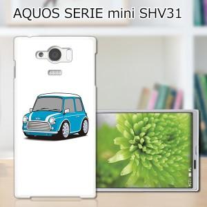 AQUOS SERIE mini SHV31 ハードケース/カバー 【Mini PCクリアハードカバー】 AQUOS SERIE mini SHV31 スマートフォンカバー・ジャケット