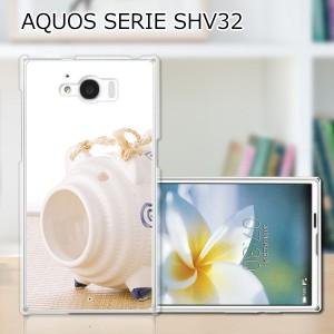 AQUOS SERIE SHV32 ハードケース/カバー 【蚊取り線香 PCクリアハードカバー】 AQUOS SERIE SHV32 スマートフォンカバー・ジャケット