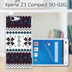 Xperia Z3 Compact SO-02G ハードケース/カバー 【ノルディック PCクリアハードカバー】エクスペリア SO02G スマートフォンカバー・ジャ