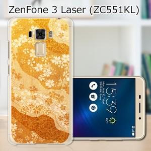 ZenFone3 Laser ZC551KL ハードケース/カバー 【桜単衣 PCクリアハードカバー】  スマートフォンカバー・ジャケット