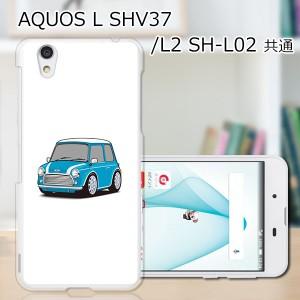 UQmobile AQUOS L SHV37 TPUケース/カバー 【Mini ソフトカバー 】 スマートフォンカバー・ジャケット