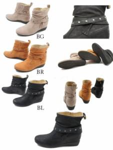 リーガル REGAL レディース(女性用) F28G 本革ショートブーツ ナチュラルブーツ BG(ベージュ) BR(ブラウン) BL(ブラック) 3色 インヒール