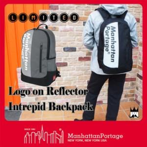 マンハッタンポーテージ Manhattan Portage メンズ レディース バッグ MP1270-REF-L ロゴオン リフレクター イントレピッド バックパック