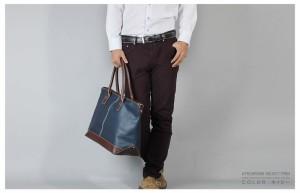 【送料無料】2WAY トートバッグ ショルダー メンズ【 B4 対応】大容量 大きめ 【選べる2色】ブラック ネイビー/oth-ux-bag-1362