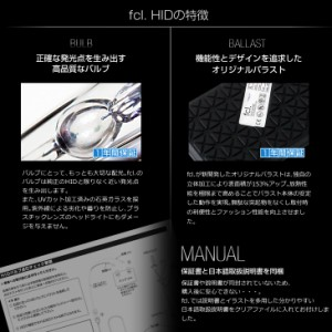 HIDキット 55W キャミ後期 H12.5〜H18.1 HB4 fcl エフシーエル/hid/送料無料
