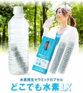 お得な2セット計4本 ペットボトル100本分の水素水を生成 どこでも水素LX