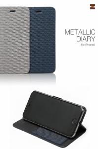 iPhone6s iPhone6  ケース カバー ZENUS Metallic Diary メタリックダイアリー スマートフォン スマホケース スマホカバー